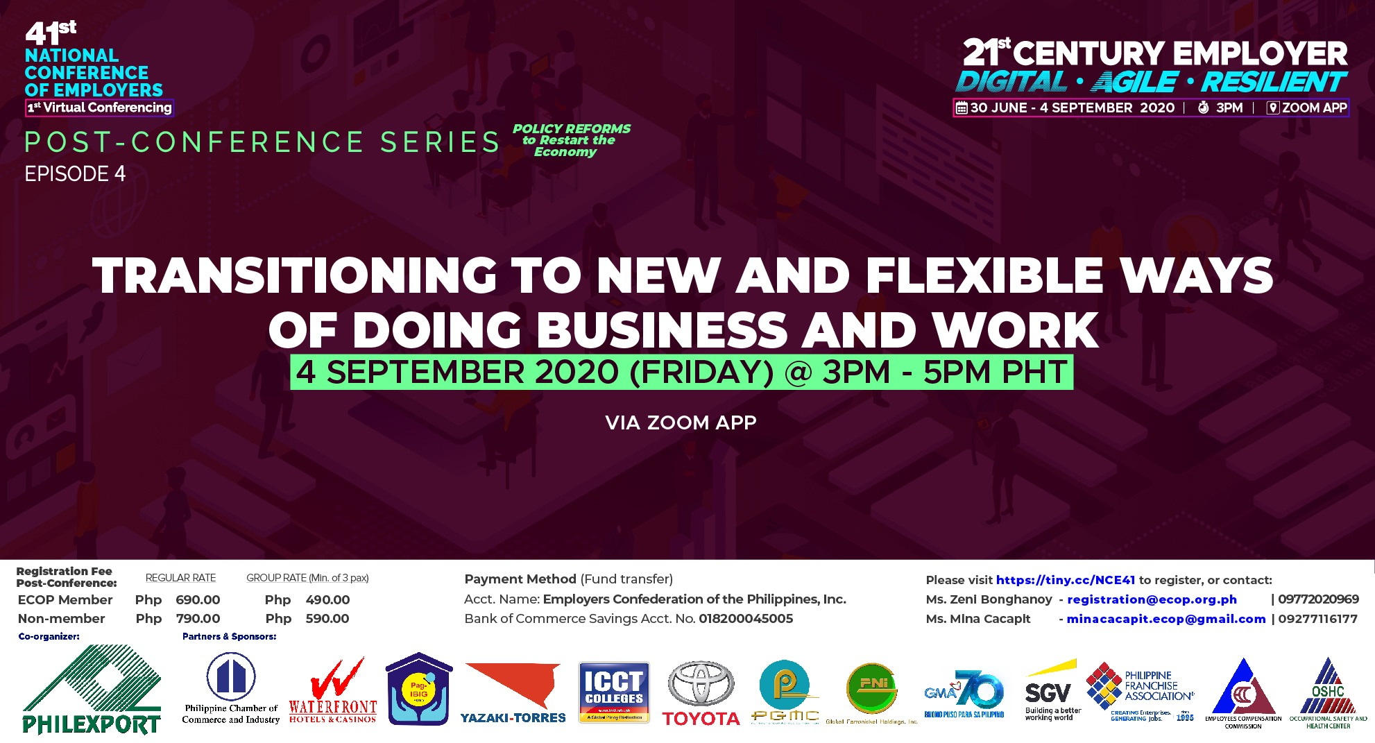 Transitioning to New and Flexible Ways of Doing Business and Work