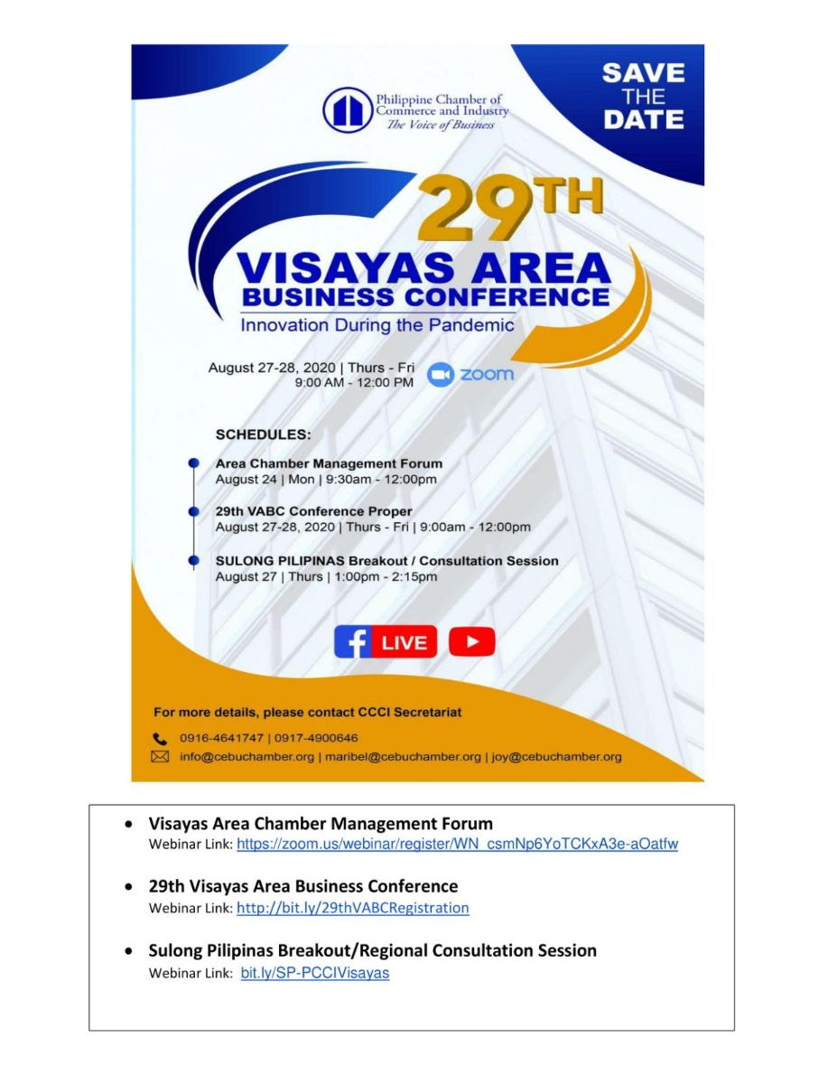 29th Visayas Are Business Conference