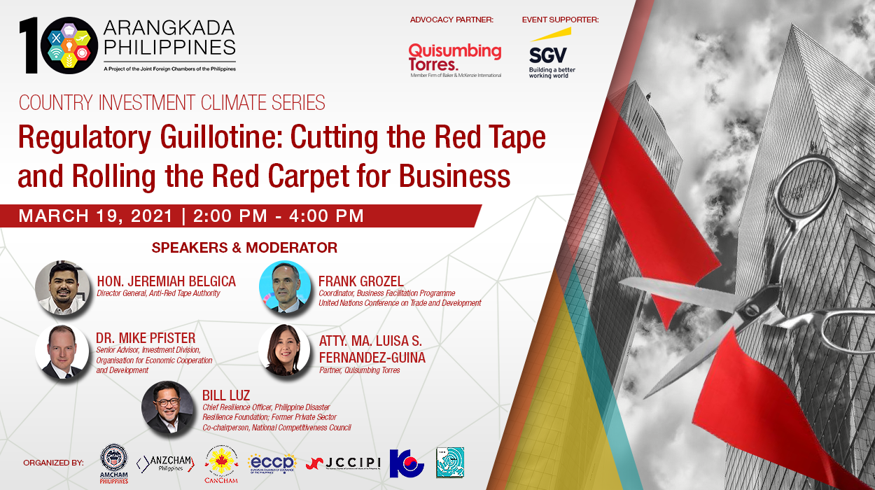 Regulatory Guillotine: Cutting Red Tape, Rolling the Red Carpet