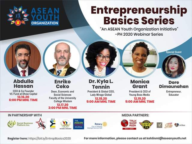 ENTREPRENEURSHIP BASICS 2020 SERIES
