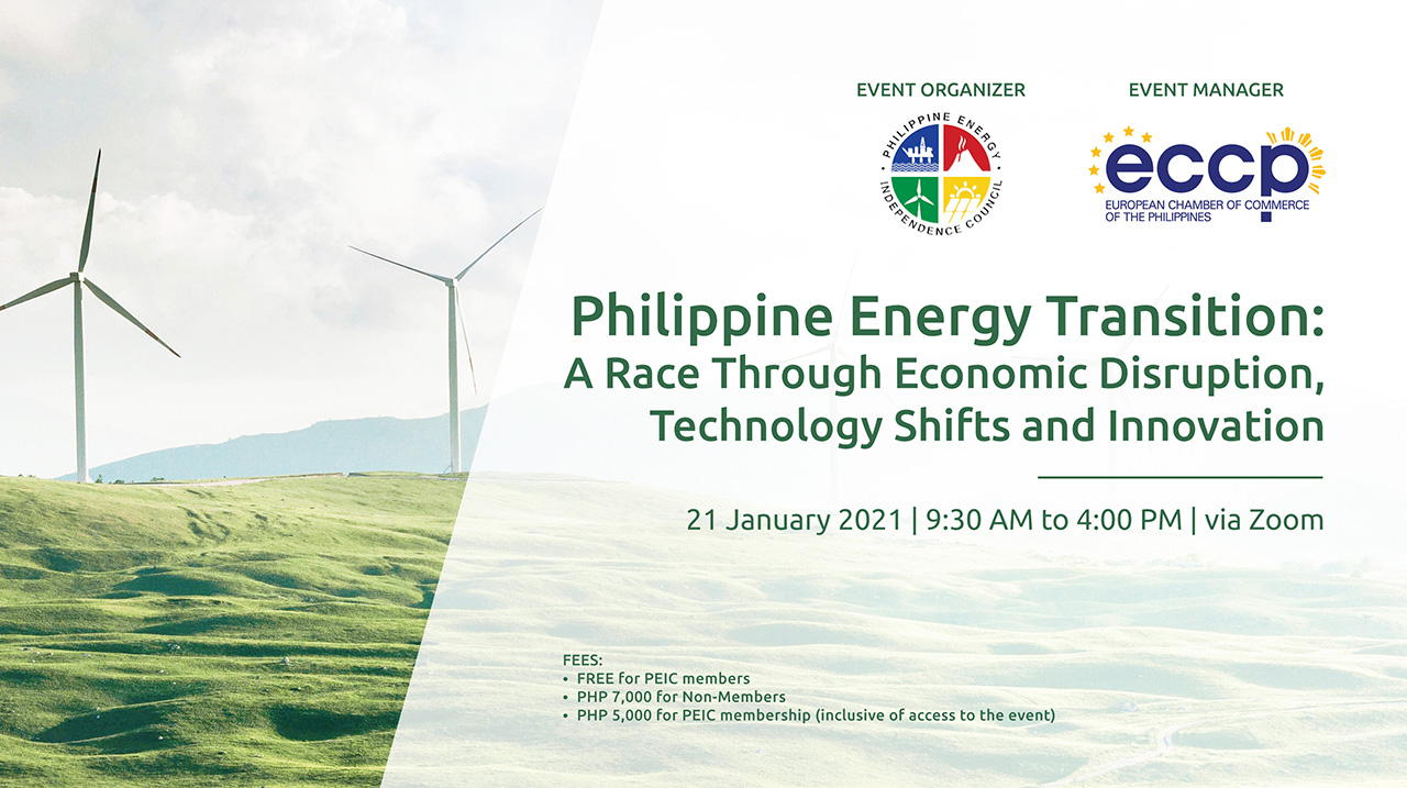 Philippine Energy Transition: A Race Through Economic Disruption, Technology Shifts and Innovation