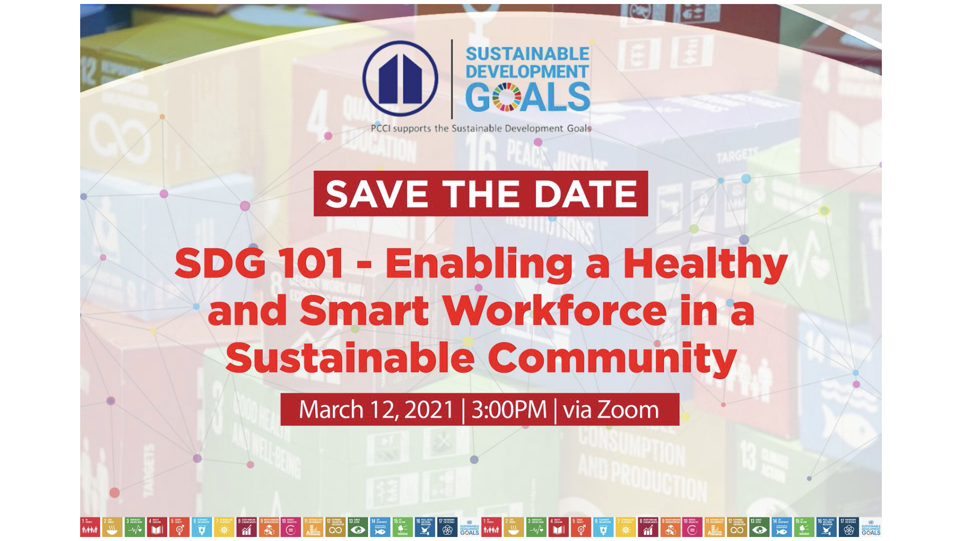 SDG 101: Enabling a Healthy and Smart Workforce in a Sustainable Community